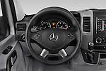 Car pictures of steering wheel view of a 2016 Mercedes Benz Sprinter-Crew-Van 2500-170-WB-High-Roof 4 Door Combi Steering Wheel