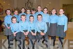 Sult Na nOg Set Dancing Competition: Taking part in the Kerry Comholtas Sult Na nOg set dancing competition County finals held in the Tintean Centre, Ballybunion on Sunday last were the Kilcummin CCE U/9 dancers. Front: Cathal Brosnan, Dara O'Callaghan, Cian Foley & Darren Lenihan. Back : Roisin Breen, Claire Sragg, Denise Crowley, Kate O'Sullivan, Shauna ...... Katie O'Leary, Beibhinn Brosnan, Abbey O'Leary & Eva Quinn.