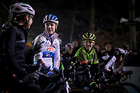 Annemarie Worst (NED/Steylaerts-777) at the start<br /> <br /> women's race<br /> 44th Superprestige Diegem (BEL) 2018<br /> ©kramon