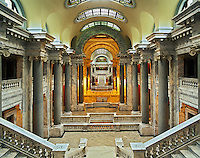 Interior of the state capital building, Frankfort, Kentucky