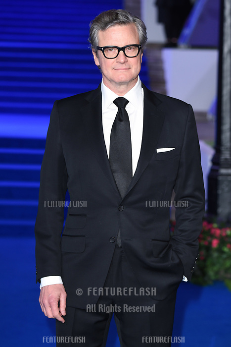 LONDON, UK. December 12, 2018: Colin Firth at the UK premiere of &quot;Mary Poppins Returns&quot; at the Royal Albert Hall, London.<br /> Picture: Steve Vas/Featureflash