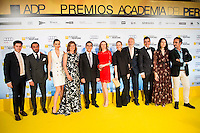 All the jury attends the photocall of the IX Gala Perfume Academy Awards at Madrid Casino in Madrid. April 26, 2016. (ALTERPHOTOS/Borja B.Hojas) NortePhoto.com