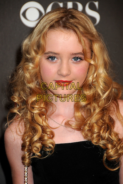 KATHRYN NEWTON.36th Annual People's Choice Awards - Arrivals held at the Nokia Theatre LA Live, Los Angeles, California, USA..January 6th, 2009.headshot portrait black hair curly curls .CAP/ADM/BP.©Byron Purvis/AdMedia/Capital Pictures.