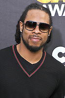 SANTA MONICA, CA, USA - FEBRUARY 15: Richard Sherman at the 4th Annual Cartoon Network Hall Of Game Awards held at Barker Hangar on February 15, 2014 in Santa Monica, California, United States. (Photo by David Acosta/Celebrity Monitor)