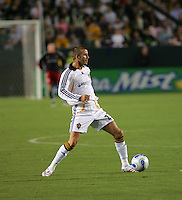 LA Galaxy midfielder David Beckham (23). CD Chivas USA defeated the LA Galaxy 3-0 in the Super Classico MLS match at the Home Depot Center in Carson, California, Thursday, August 23, 2007.