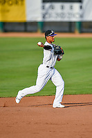 Pioneer League All-Star Jonathan Piron (2) of the Grand Junction Rockies during the game against the Northwest League All-Stars at the 2nd Annual Northwest League-Pioneer League All-Star Game at Lindquist Field on August 2, 2016 in Ogden, Utah.The Northwest League defeated the Pioneer League 11-5.  (Stephen Smith/Four Seam Images)