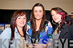 Fashion Show; Attending the North Kerry Makeover fashion show held at the Listowel Sports centre on Thursday night last were Nicola Heffernan, Sandra Lynch & Stephanie Fitzell.
