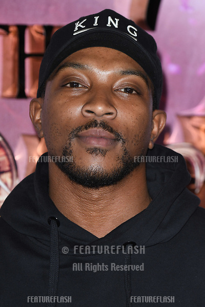 "LONDON, UK. November 01, 2018: Ashley Walters at the European premiere of ""The Nutcracker and the Four Realms"" at the Vue Westfield, White City, London.<br /> Picture: Steve Vas/Featureflash"