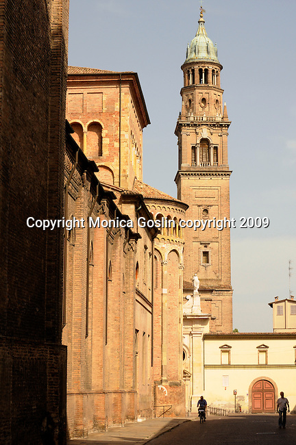 Bell Tower of the San Giovanni Evangelista Church, late mannerist style dating back to 1604