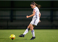 20190823 - OUD HEVERLEE BELGIUM : OHL's Jolien Van Doren is pictured <br /> during the female soccer game between the OHL Ladies vs KRC Genk Ladies, the first game for both teams in the Belgian Women's Super League , Friday 23rd  August 2019 at the OHL Jeugdcomplex , Belgium . PHOTO SPORTPIX.BE | SEVIL OKTEM