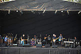 "Crosby, Stills & Nash at Humphrey's Concerts by the Bay in San Diego, CA.  With Todd Caldwell on the Hammond B3 organ, Steve ""Stevie D"" DiStanislao on drums, James Raymond on keyboards, Shane Fontayne on lead guitar and the ever-present, man-in-the-pocket, Kevin McCormick, on bass."