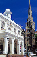 South Africa, Cape Town, Greenmarket Square - Old Town House and Metropolitan Methodist Church