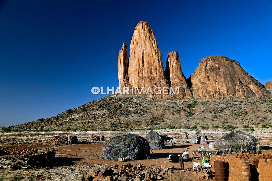 Montanhas Main du Fatma em Hombori. Mali. 2010.  Foto de Caio Vilela.