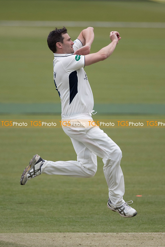 Tim Murtagh of Middlesex CCC in action during Middlesex CCC vs Lancashire CCC, Specsavers County Championship Division 2 Cricket at Lord's Cricket Ground on 12th April 2019