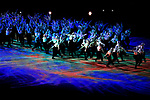General view, the ambiance shot, <br /> MARCH 9, 2018 - : <br /> PyeongChang 2018 Paralympics Winter Games Opening Ceremony <br /> at PyeongChang Olympic Stadium in Pyeongchang, South Korea. <br /> (Photo by Sho Tamura/AFLO SPORT)