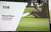 Manuel Neuer (FC Bayern München) ist für den WM Kader nominiert - 15.05.2018: Vorläufige WM-Kaderbekanntgabe, Deutsches Fußballmuseum Dortmund