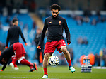 Liverpool's Mohamed Salah warms up during the Champions League Quarter Final 2nd Leg match at the Etihad Stadium, Manchester. Picture date: 10th April 2018. Picture credit should read: David Klein/Sportimage