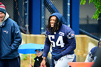 June 6, 2017: New England Patriots linebacker Dont'a Hightower (54) walks to practice in the rain at the New England Patriots mini camp held on the practice field at Gillette Stadium, in Foxborough, Massachusetts. Eric Canha/CSM