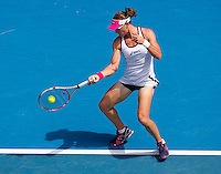 SAMANTHA STOSUR (AUS) against SORANA CIRSTEA (ROU) in the first round of the women's Singles. Sorana Cirstea beat Samantha Stosur  7-6 6-3 ..17/01/2012, 17th January 2012, 17.01.2012..The Australian Open, Melbourne Park, Melbourne,Victoria, Australia.@AMN IMAGES, Frey, Advantage Media Network, 30, Cleveland Street, London, W1T 4JD .Tel - +44 208 947 0100..email - mfrey@advantagemedianet.com..www.amnimages.photoshelter.com.