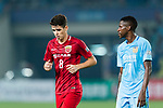 Shanghai FC Forward Oscar Emboaba Junior (L) and Jiangsu FC Midfielder Ramires Santos (R) during the AFC Champions League 2017 Round of 16 match between Jiangsu FC (CHN) vs Shanghai SIPG FC (CHN) at the Nanjing Olympic Stadium on 31 May 2017 in Nanjing, China. Photo by Marcio Rodrigo Machado / Power Sport Images