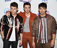 Jonas Brothers at the Capital FM Summertime Ball at Wembley Stadium, London on June 8th 2019<br /> CAP/ROS<br /> ©ROS/Capital Pictures