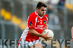 James Crean West Kerry in action against  Legion in the Quarter Final of the Kerry Senior County Championship at Austin Stack Park on Sunday.