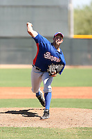 Steven McKinnon - Texas Rangers - 2010 Instructional League.Photo by:  Bill Mitchell/Four Seam Images..