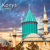 Konya & Mevlana Mauseleum Pictures, Images & Photos. Turkey