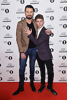 Rylan Clark and Matt Edmondson<br /> at the Radio 1 Teen Awards 2016, Wembley Arena, London.<br /> <br /> <br /> ©Ash Knotek  D3188  22/10/2016