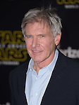 Harrison Ford at Star Wars: The Force Awakens World Premiere held at El Capitan Theatre in Hollywood, California on December  14,2015                                                                   Copyright 2015Hollywood Press Agency