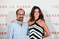 Asghar Farhadi and Penelope Cruz attends to 'Todos lo Saben' film photocall at Urso Hotel in Madrid, Spain. September 12, 2018. (ALTERPHOTOS/A. Perez Meca) /NortePhoto NORTEPHOTOMEXICO
