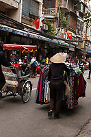 Street vendor in Hanoi<br /> Old town , January 2016
