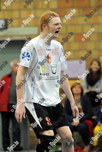 2013-09-28 / Volleybal / seizoen 2013-2014 / VC Herenthout / B. Cloots<br /><br />Foto: Mpics.be