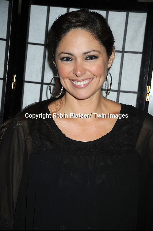 "Jessica Leccia attends The ""Daytime Meets Nighttime"" hosted by ..The Imperial Court of New York on November 4, 2011 at ..The Jan Hus Theatre in New York City. The benefit was for The Jan Hus Theatre and Lifebeat."