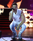 MIAMI FL - JULY 30: Prince Royce performs at Bayfront Park Amphitheater on July 30, 2017 in Miami, Florida. Photo by Larry Marano © 2017