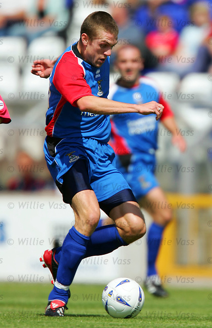 Steven Hislop, Inverness Caley Thistle.stock season 2004-2005.pic willie vass