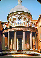 High Renaissance, Baroque. The image is an example of the style of architecture featured in this gallery.
