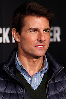 Actor Tom Cruise attends the 'Jack Reacher' premiere at the Callao cinema in Madrid, Spain. December 13, 2012. (ALTERPHOTOS/Caro Marin) /NortePhoto