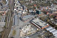 Bergedorf Tor, Alte Post : EUROPA, DEUTSCHLAND, HAMBURG, (EUROPE, GERMANY), 24.02.2018: Bergedorf, Bergedorf Tor,