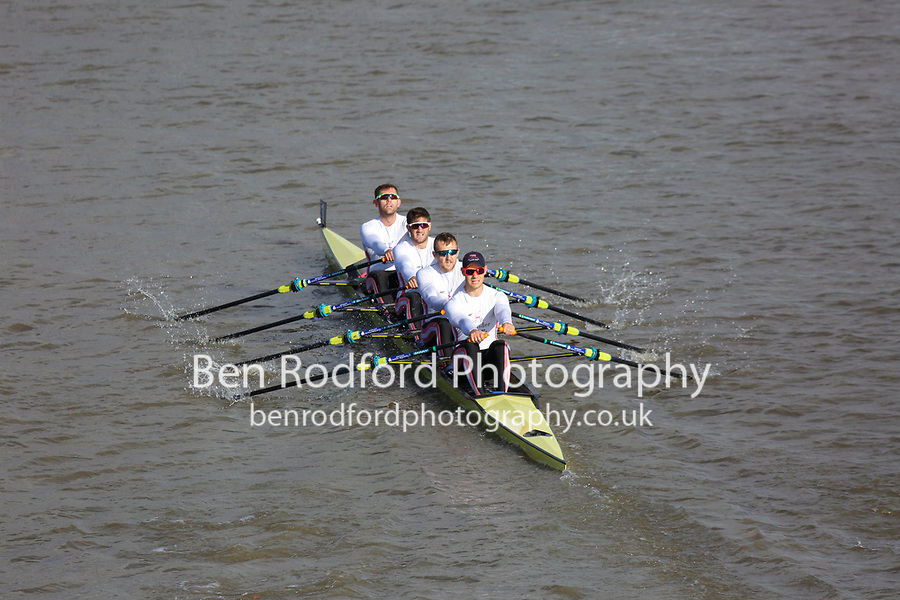 Crew: 1  LDR (A)  Leander Club (J Beaumont)  4x- Champ<br /> <br /> Fours Head of the River 2018<br /> <br /> To purchase this photo, or to see pricing information for Prints and Downloads, click the blue 'Add to Cart' button at the top-right of the page.