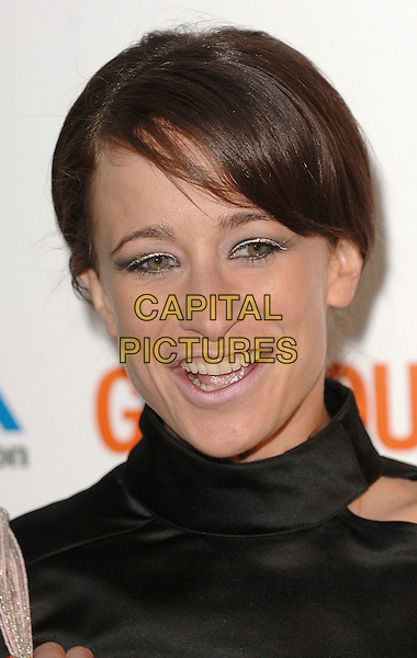 LEAH WOOD.attending the Glamour Women Of The Year Awards, Berkeley Square Gardens, London, 5th June 2007..portrait headshot gold eyeliner.CAP/BEL.©Tom Belcher/Capital Pictures.
