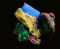 MINERAL FLUORESCENCE<br />
