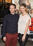 HOLLYWOOD, CA - FEBRUARY 13: Actor Glenn Howerton (L) and actress Jill Latiano attend the premiere of Warner Bros. Pictures' 'Fist Fight' at the Regency Village Theatre on February 13, 2017 in Westwood, California.