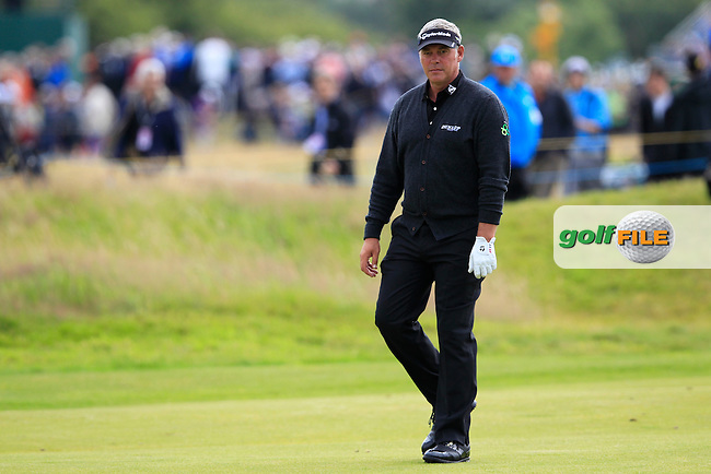Darren Clarke (NIR) on the 14th hole during Thursday's Round 1 of the 141st Open Championship at Royal Lytham & St.Annes, England 19th July 2012 (Photo Eoin Clarke/www.golffile.ie)