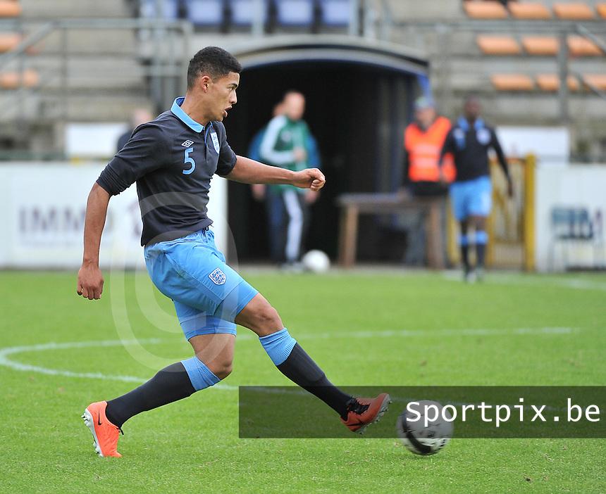 Belgium U19 - England U19 : Tyias Browning (5).foto DAVID CATRY / Nikonpro.be