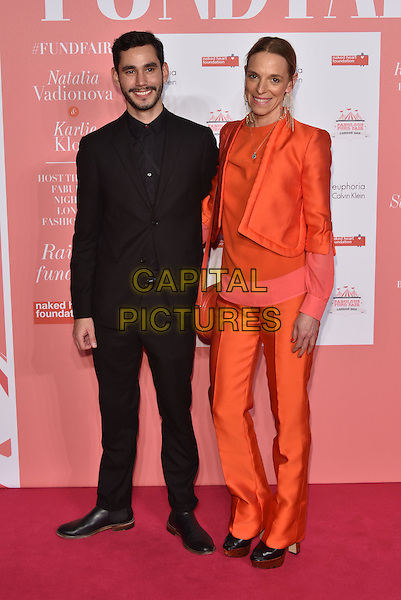 Tiphaine de Lussy<br /> arrivals at London's Fabulous Fund Fair 2016 in aid of the Naked Heart Foundation at Old Billingsgate Market on 20th February 2016.<br /> CAP/PL<br /> &copy;Phil Loftus/Capital Pictures
