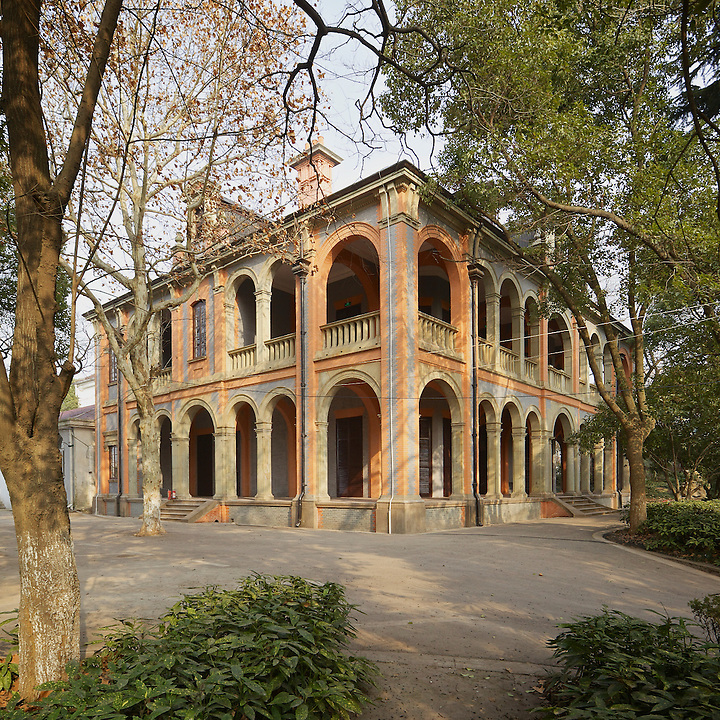 Not In The Least Upstaged By His Deputy's Fine Building, The Commissioner's Residence In Wuhu (From The South West).
