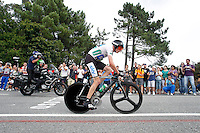 Christopher Froome during the stage of La Vuelta 2012 between Cambados and Pontevedra.Individual Time Trials.August 29,2012. (ALTERPHOTOS/Paola Otero) /Nortephoto.com<br />