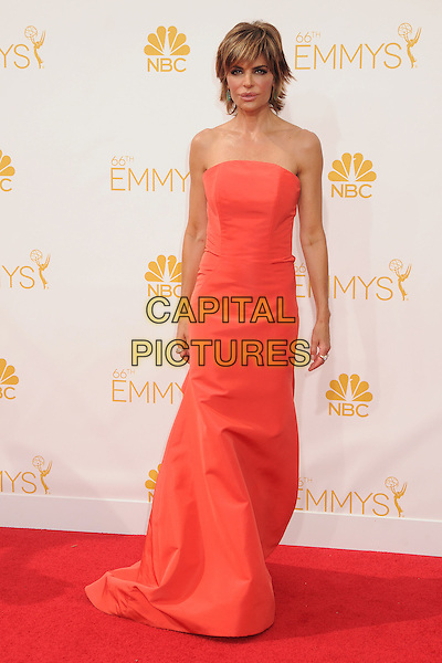 25 August 2014 - Los Angeles, California - Lisa Rinna. 66th Annual Primetime Emmy Awards - Arrivals held at Nokia Theatre LA Live. <br /> CAP/ADM/BP<br /> &copy;BP/ADM/Capital Pictures