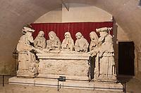Europe/France/Aquitaine/24/Dordogne/Bourdeilles :Château de Bourdeilles- Château renaissance - Mise au tombeau